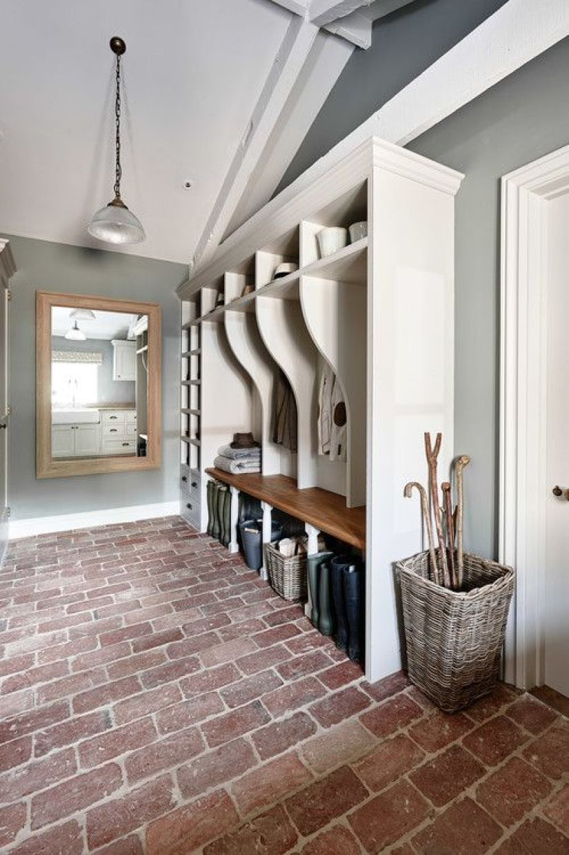 Mudroom Ideas in garage