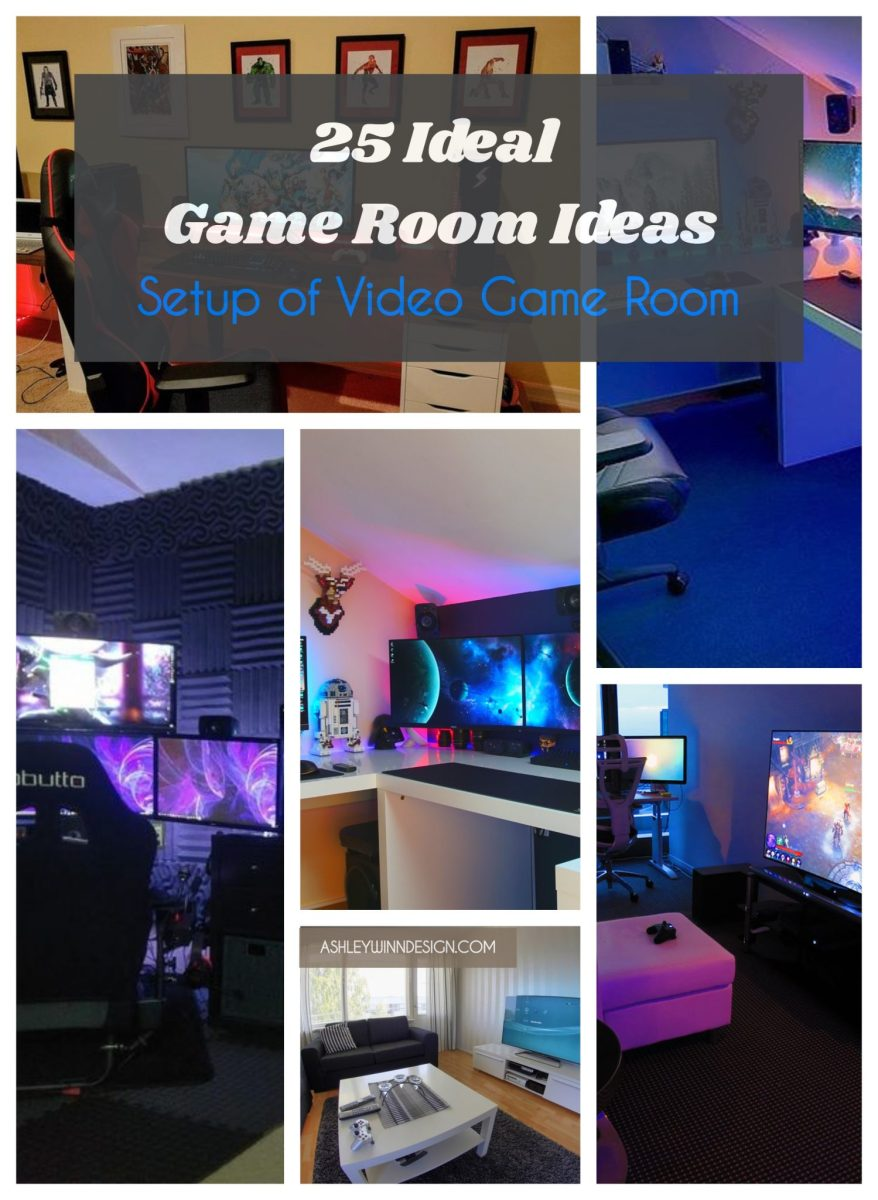 25 Ideal Game Room Ideas