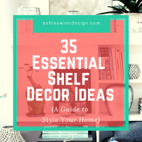Shelf Decor Ideas | A Guide to Style Your Home