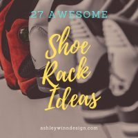 27 Awesome Shoe Rack Ideas (Concepts for Storing Your Shoes)