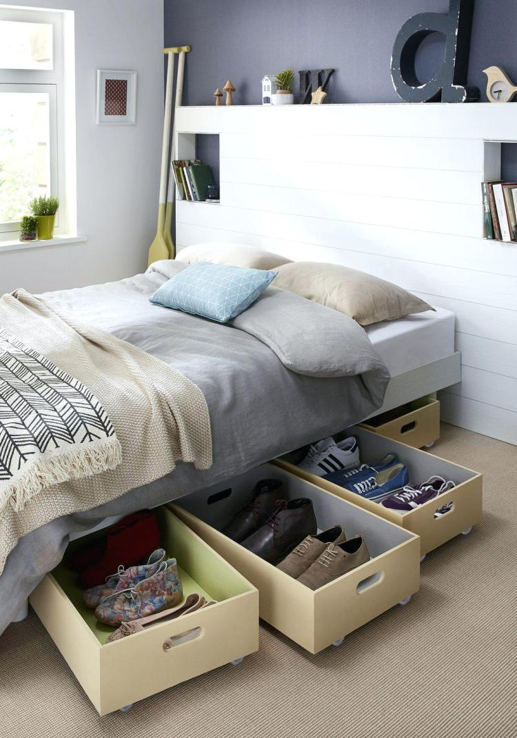 Shoe Rack Concepts for Bedroom