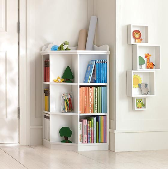 corner shelving ideas