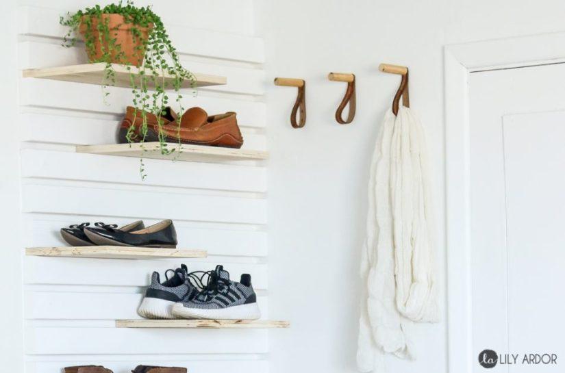 compact shoe rack