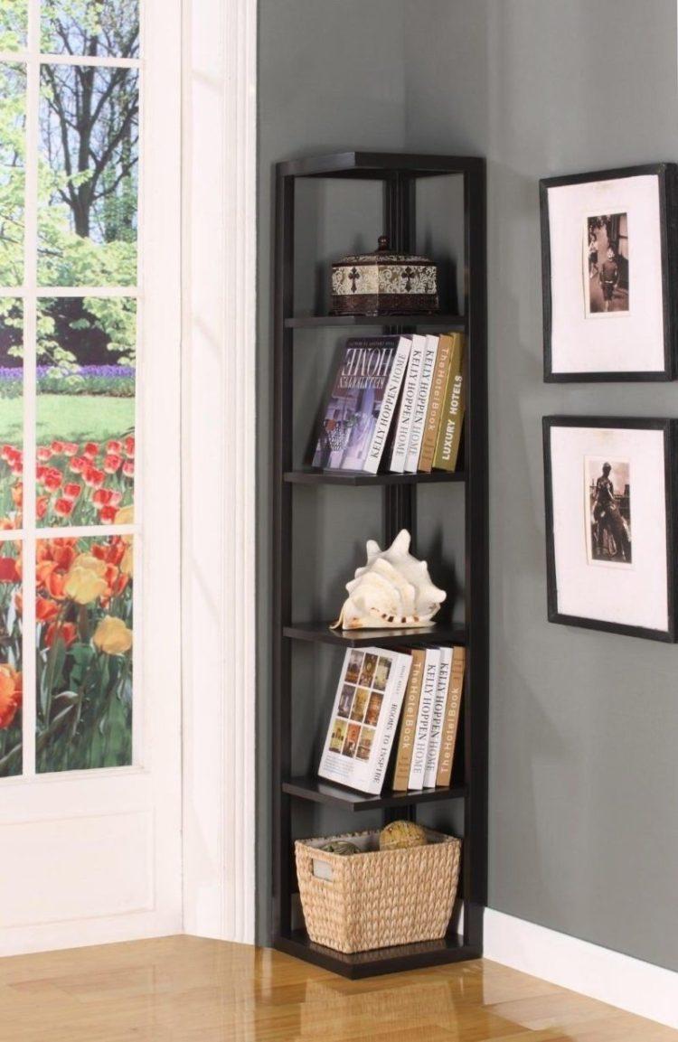 corner shelf ideas for living room