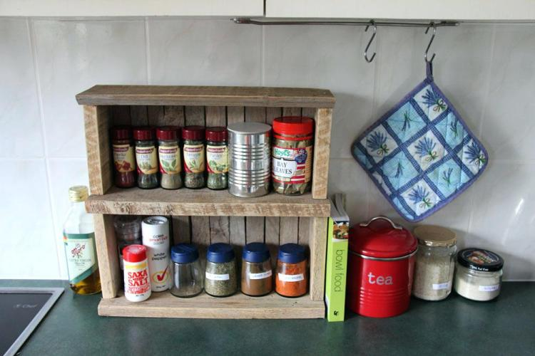 Spice Rack Concepts for Countertop