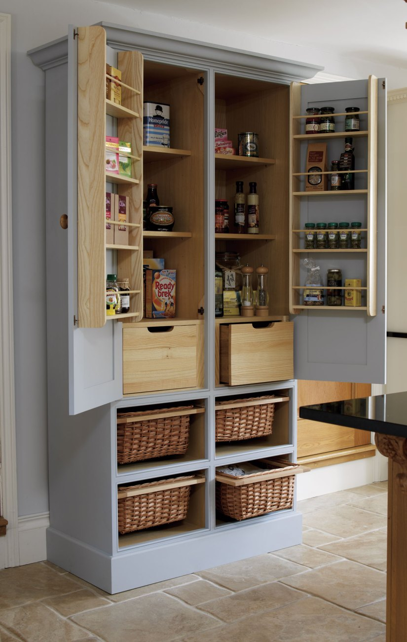 freestanding pantry cabinet ideas