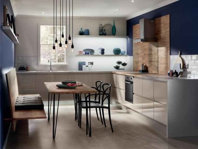 43 Brilliant L-Shaped Kitchen Designs 2019 (A Review On ...