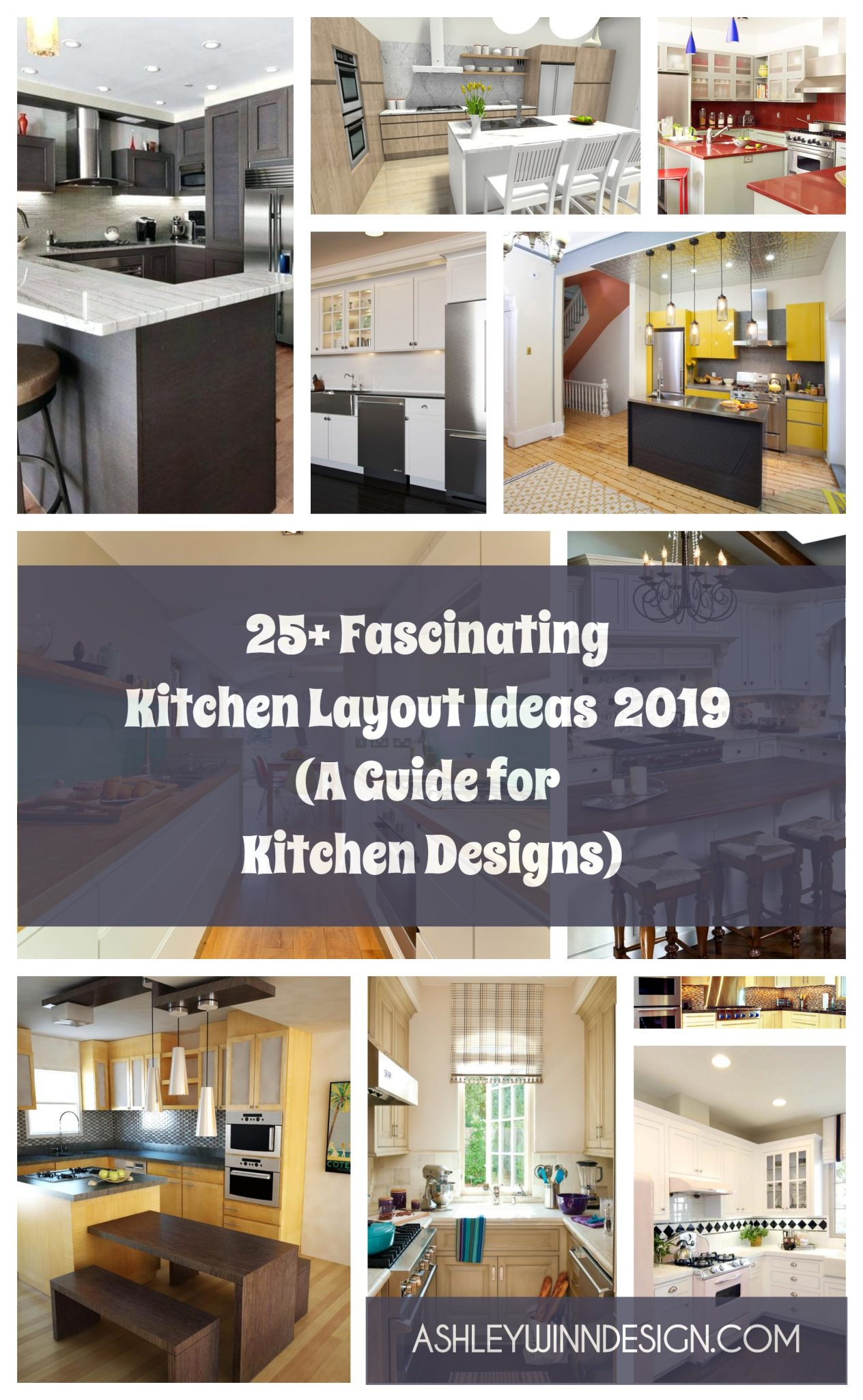 25+ Fascinating Kitchen Layout Ideas 2020 [A Guide for ...