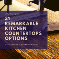 31 Remarkable Kitchen Countertops Options [A Definitive Guide to Different Countertops]