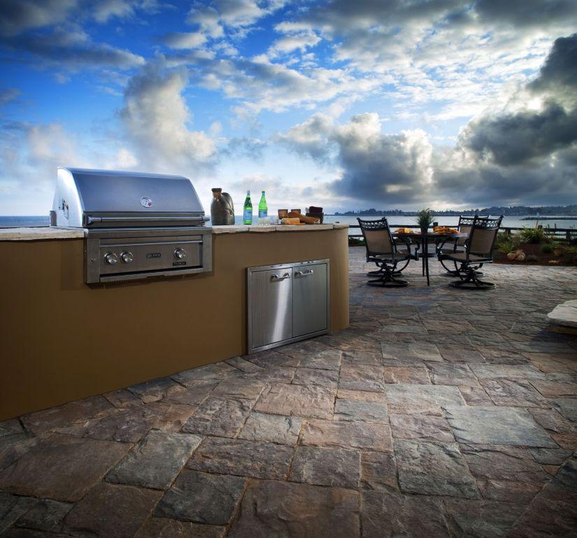 outdoor kitchen countertops options
