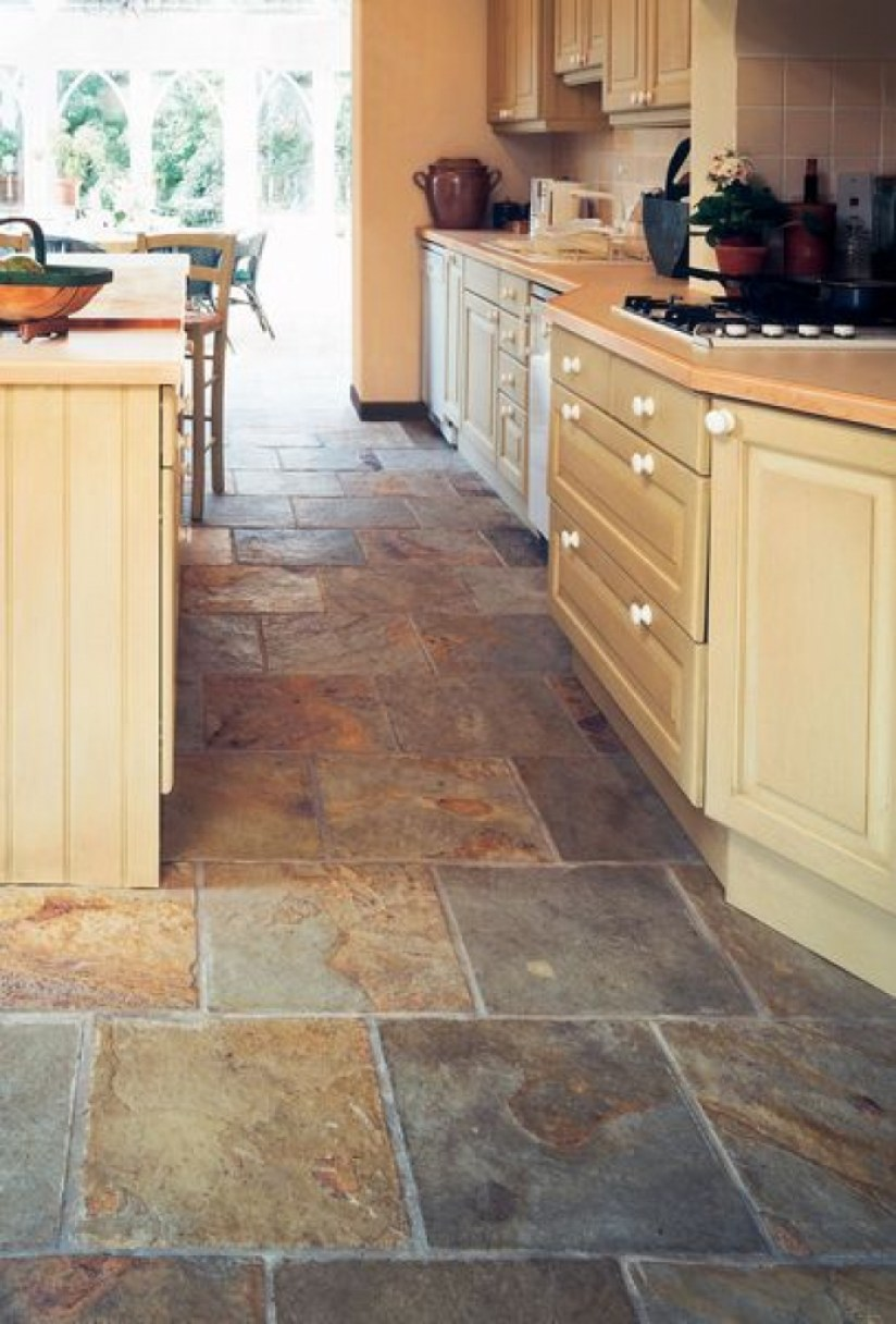 40+ Outstanding Kitchen Flooring Ideas 2019 - Designs ...