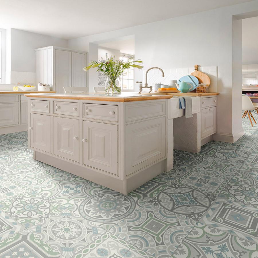 ... kitchen mosaic ... & 40+ Outstanding Kitchen Flooring Ideas 2019 - Designs u0026 Inspirations