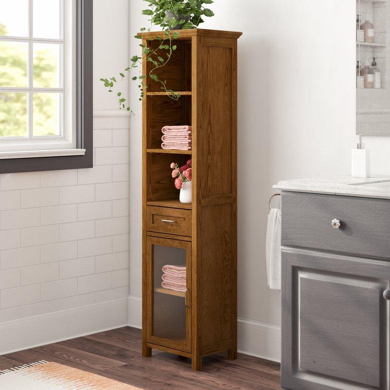 bathroom upper cabinet ideas