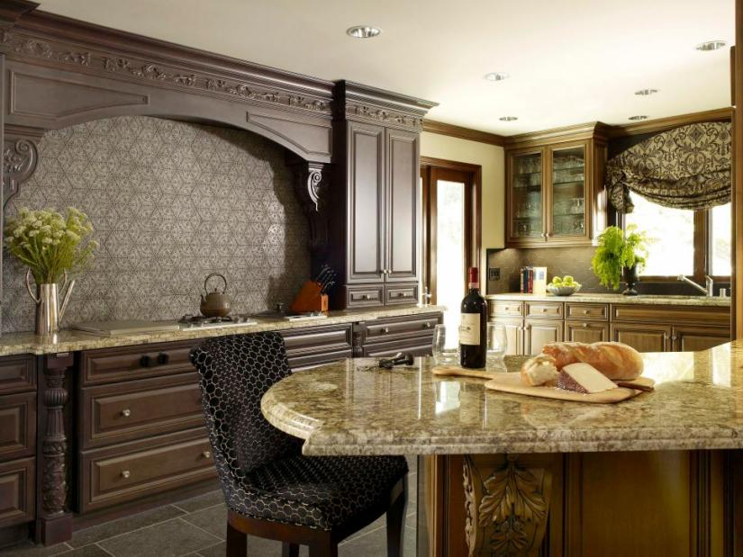 open kitchen design with island