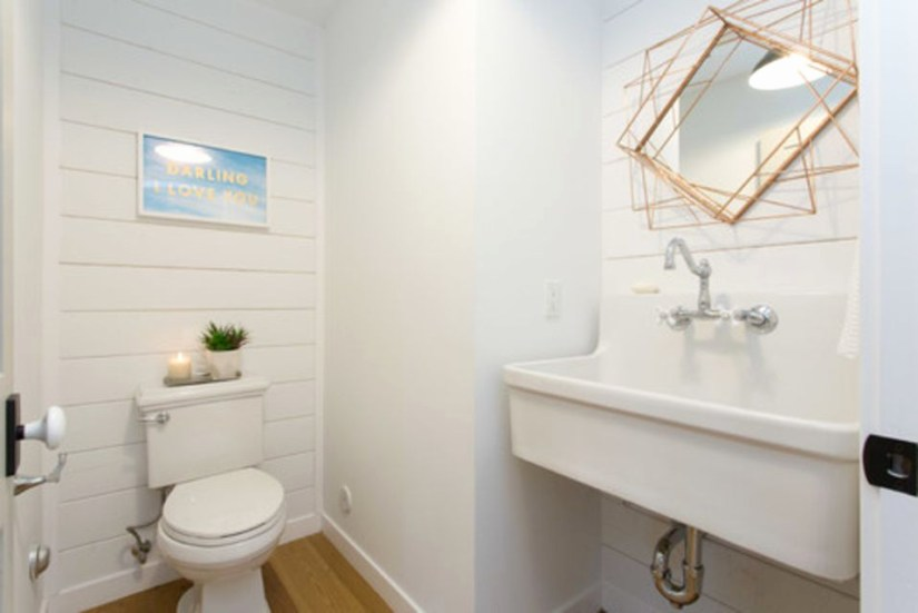 half bathroom paint color ideas