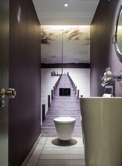 half bathroom storage ideas
