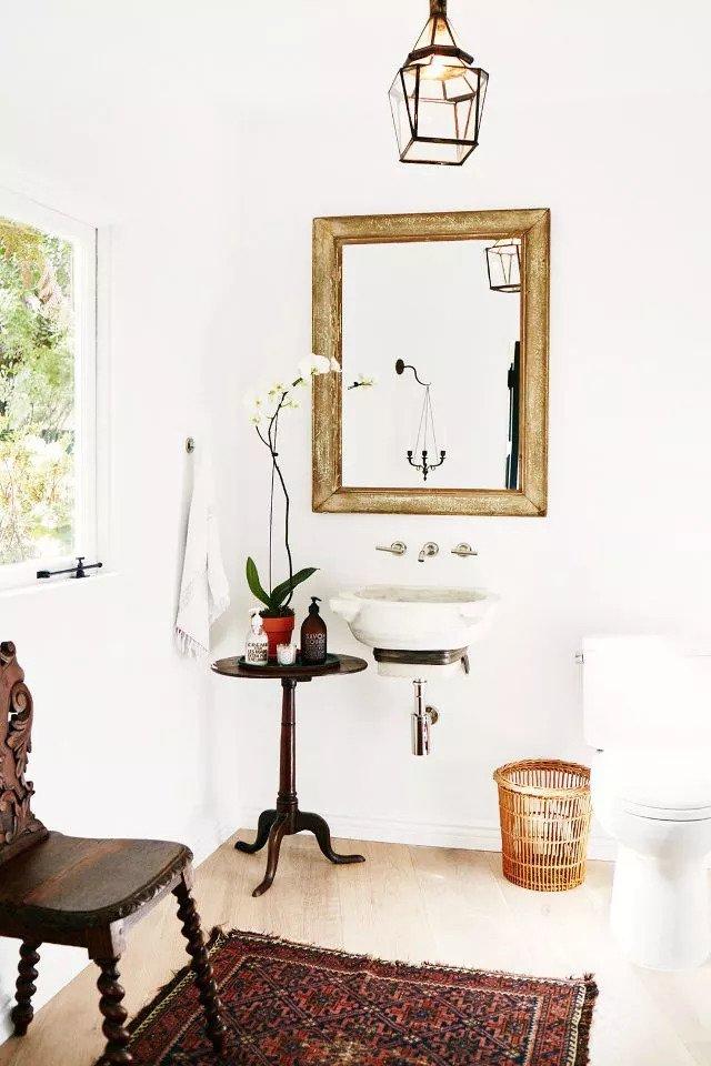 half bathroom backsplash ideas
