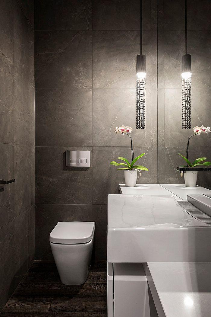 bathroom half wall tile ideas
