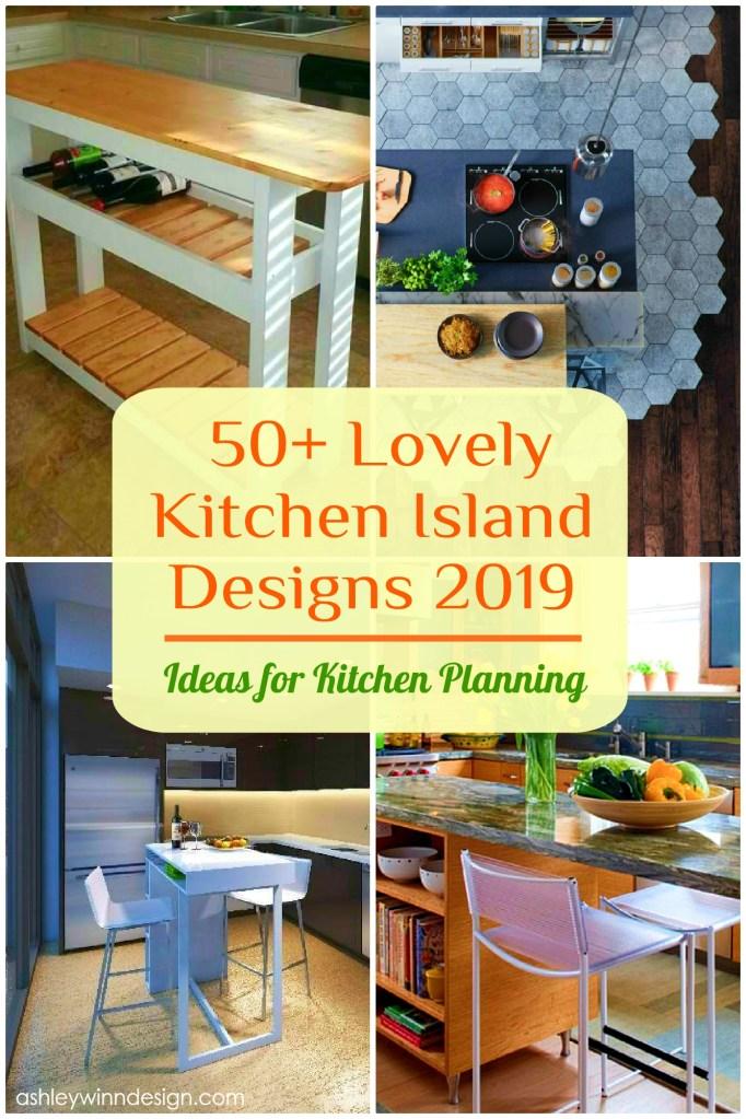 50+ Lovely Kitchen Island Designs 2019 (Ideas for Kitchen ...
