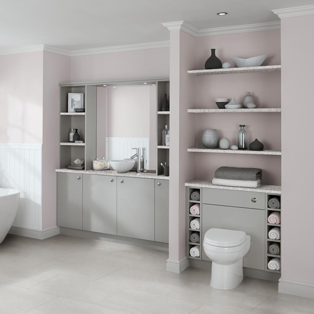 grey bathroom cabinet ideas