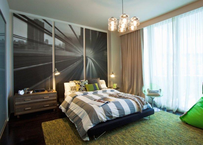 mid century modern bedroom decorating ideas