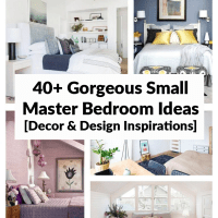 40+ Gorgeous Small Master Bedroom Ideas [Decor & Design Inspirations]