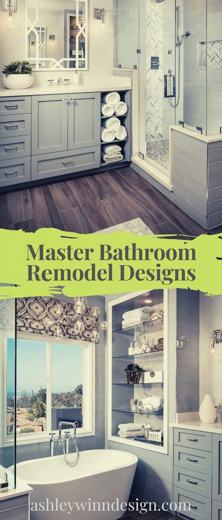master bathroom remodel cost