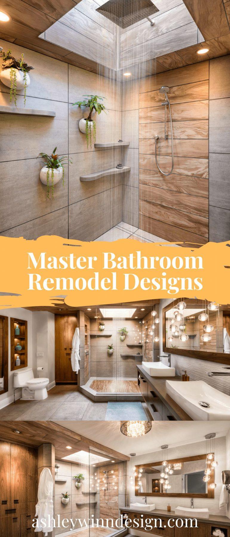 Natural Rain Shower bathroom