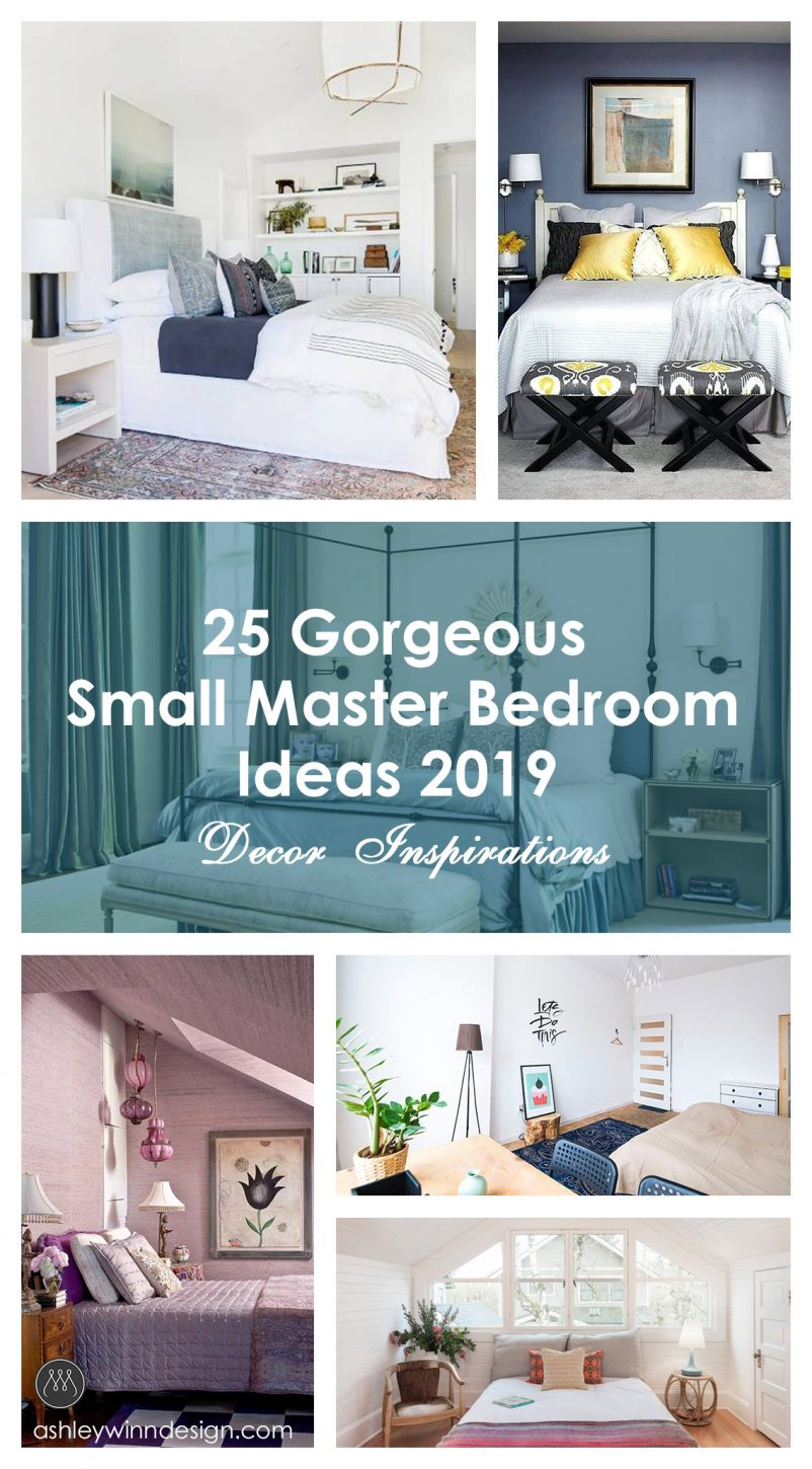 25 Gorgeous Small Master Bedroom Ideas 2019 Decor Inspirations