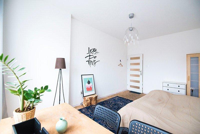 master bedroom small rug ideas