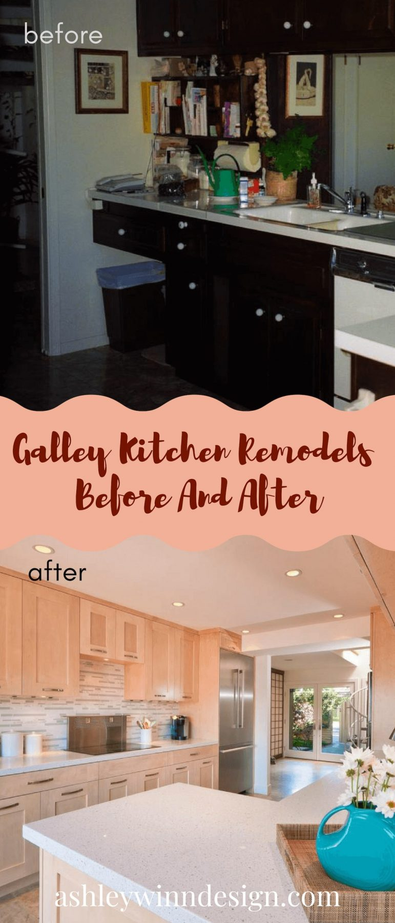 galley style kitchen makeovers