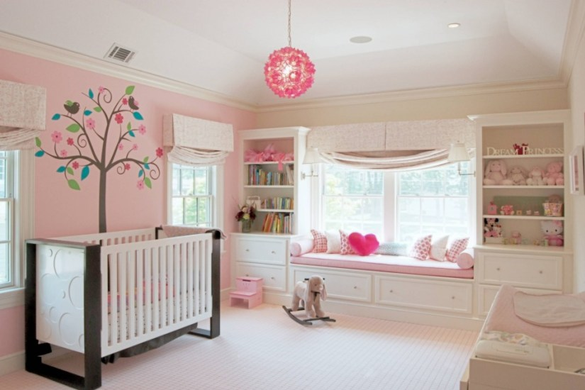 nursery room ideas for girl