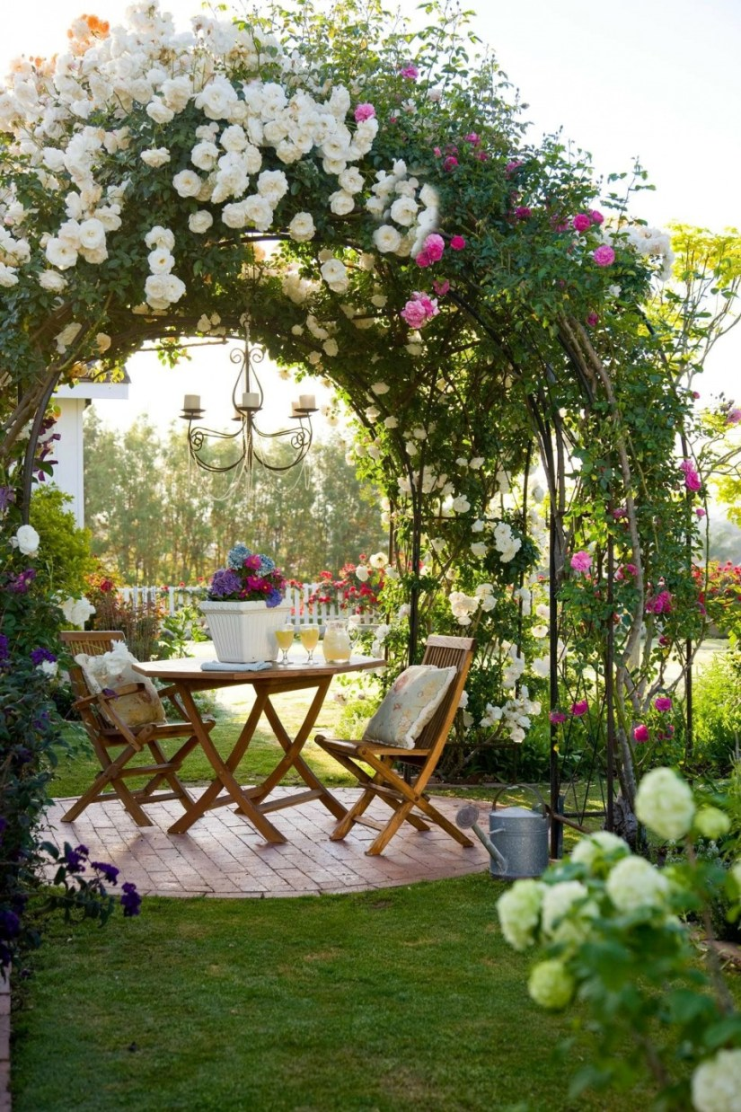 rose garden designs ideas