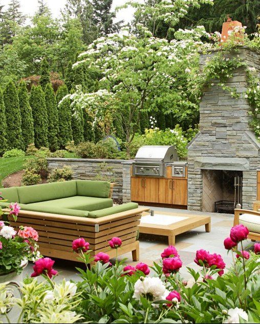rose garden landscape ideas