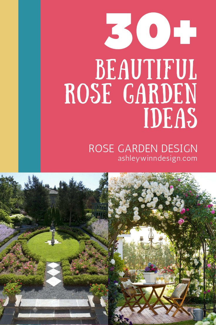 30+ Beautiful Rose Garden Ideas For Your Outdoor Space ...