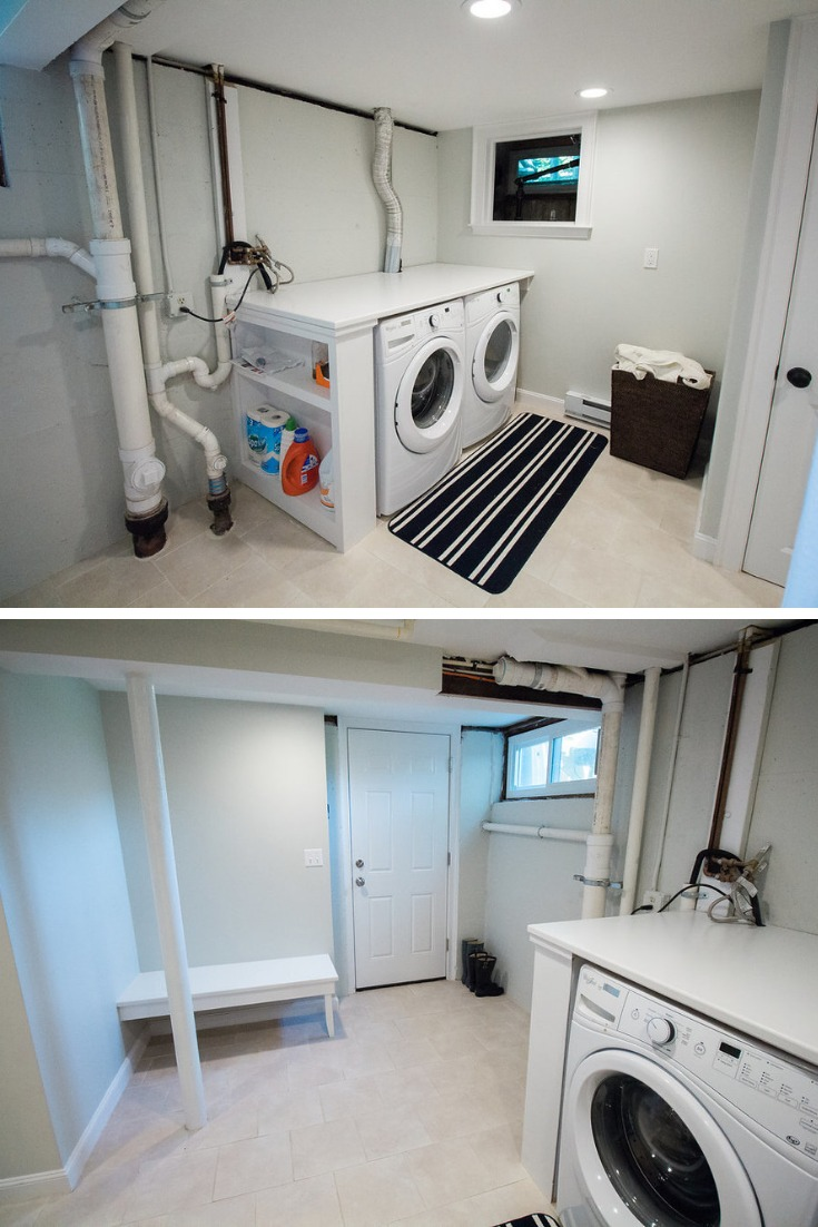laundry room setup