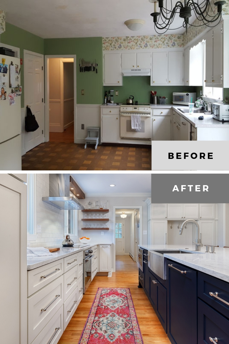 20 Excellent Kitchen Remodel Before And After Kitchen Makeovers