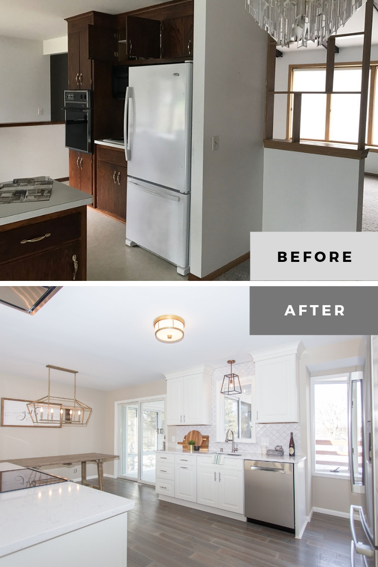 20 Excellent Kitchen Remodel Before And After Ideas In 2020