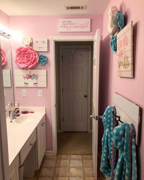 bathroom girls ideas
