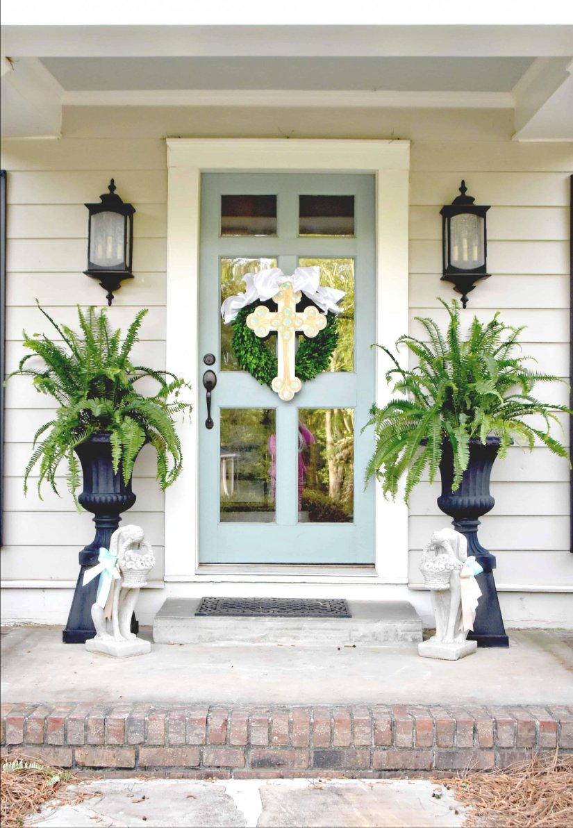 door decorated