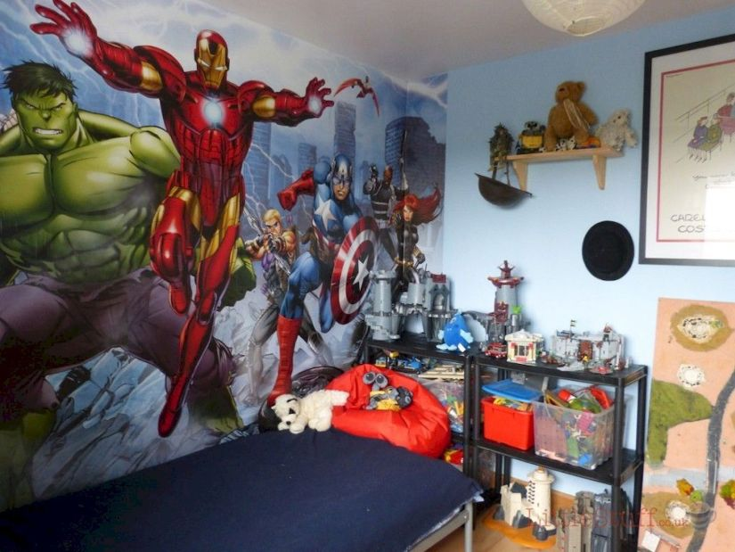 Marvel Kids Bedroom Theme Ideas
