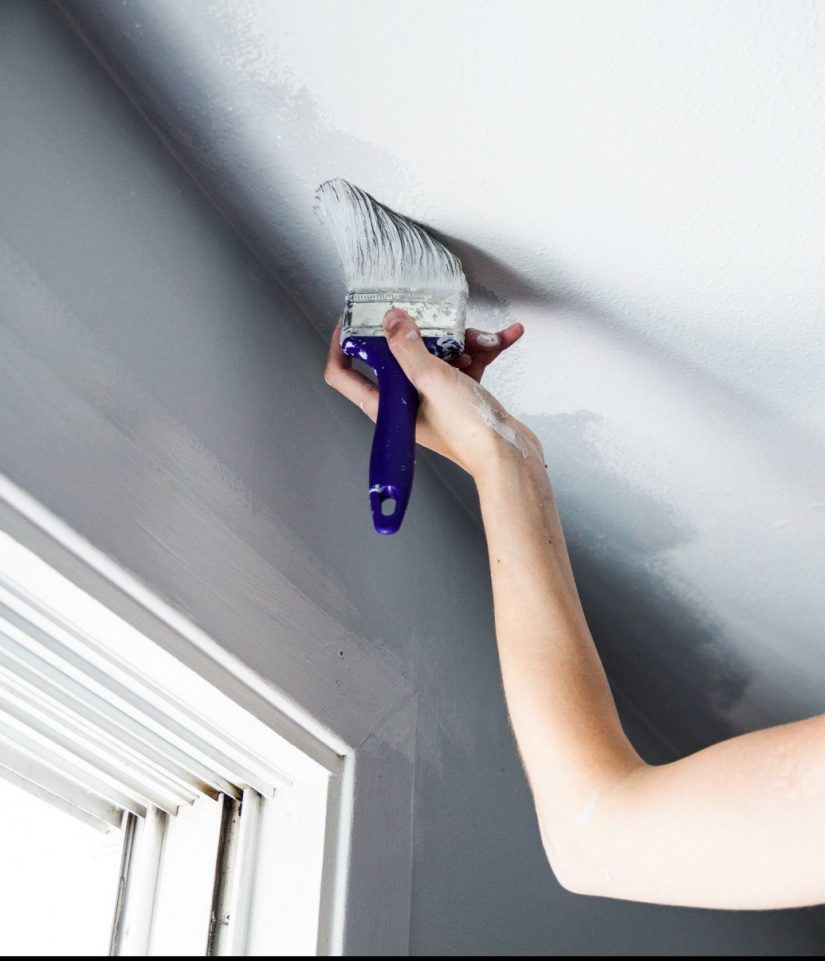 pain brush for ceiling texture