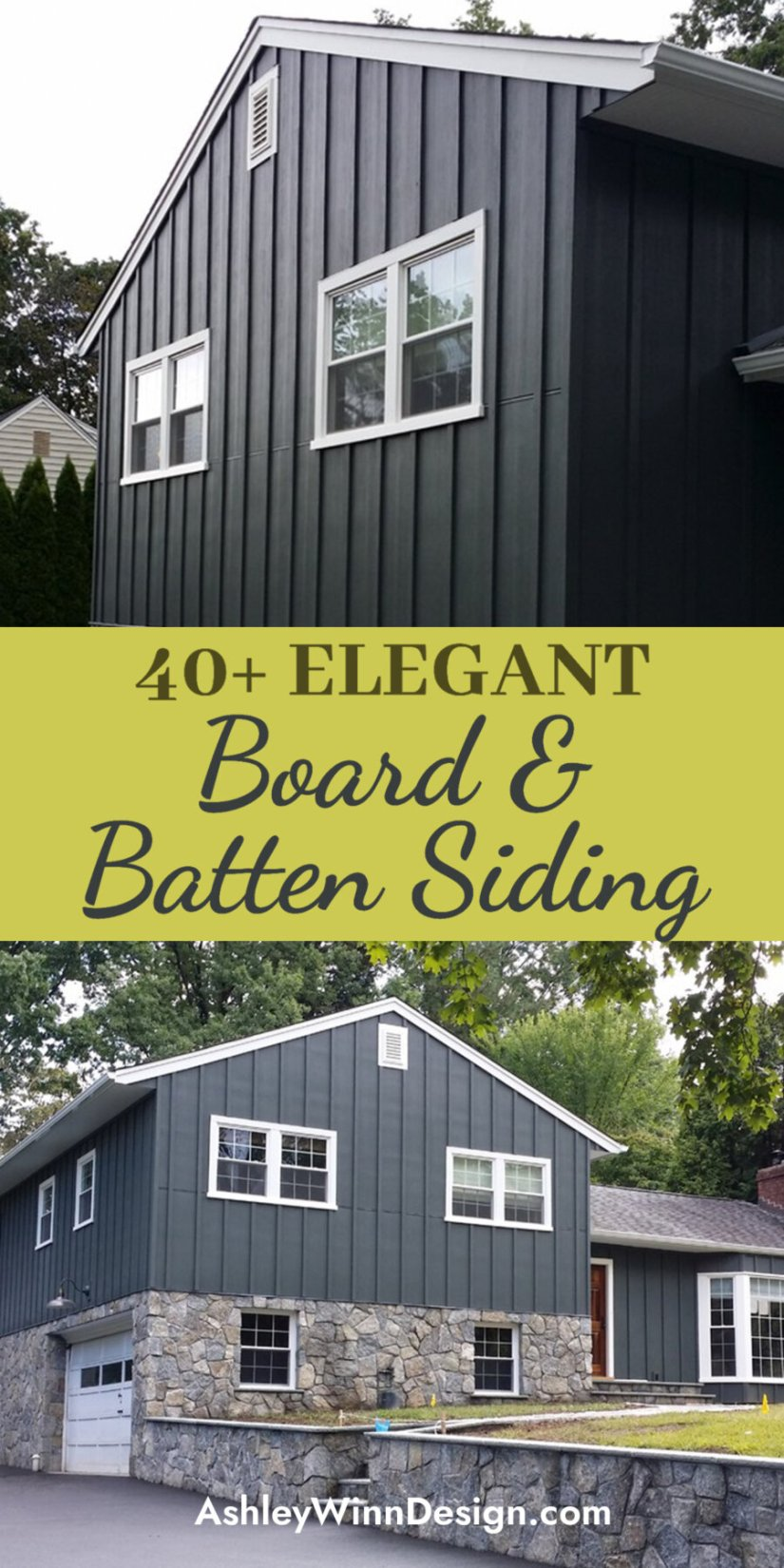 metal board and batten siding