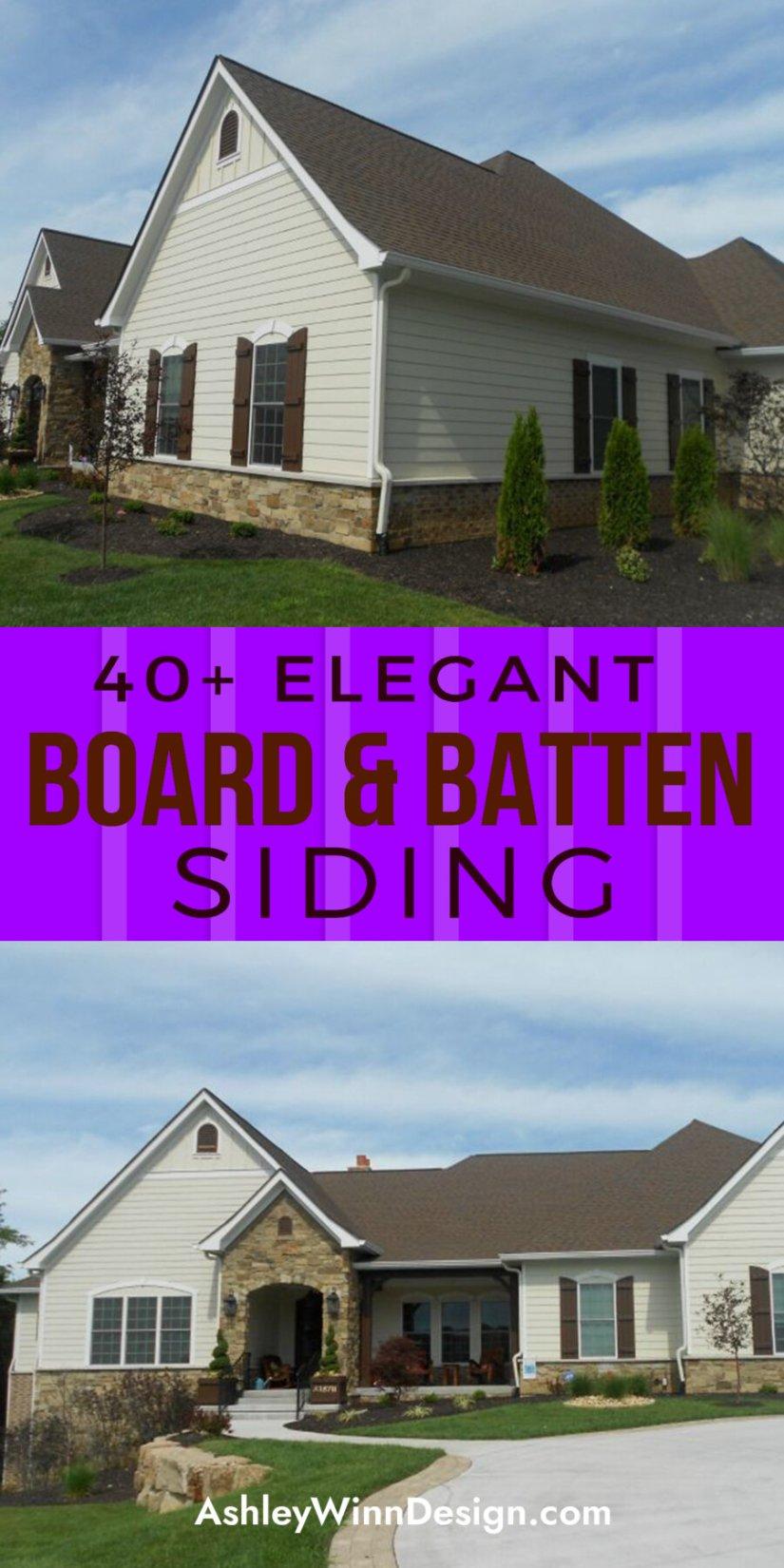 reverse board and batten siding