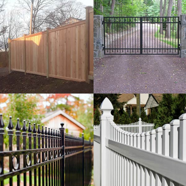 inexpensive fencing ideas
