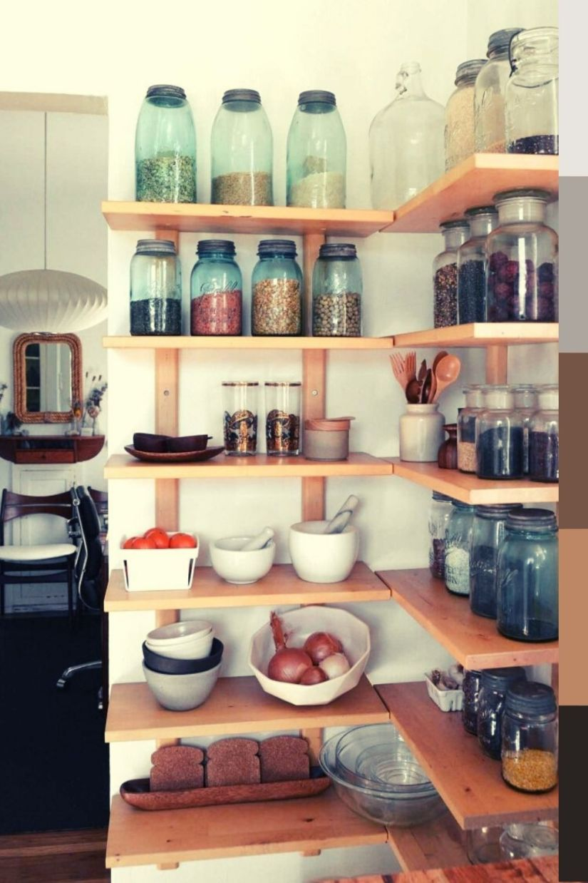 corner shelf kitchen