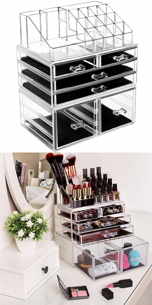 detachable cosmetic storage