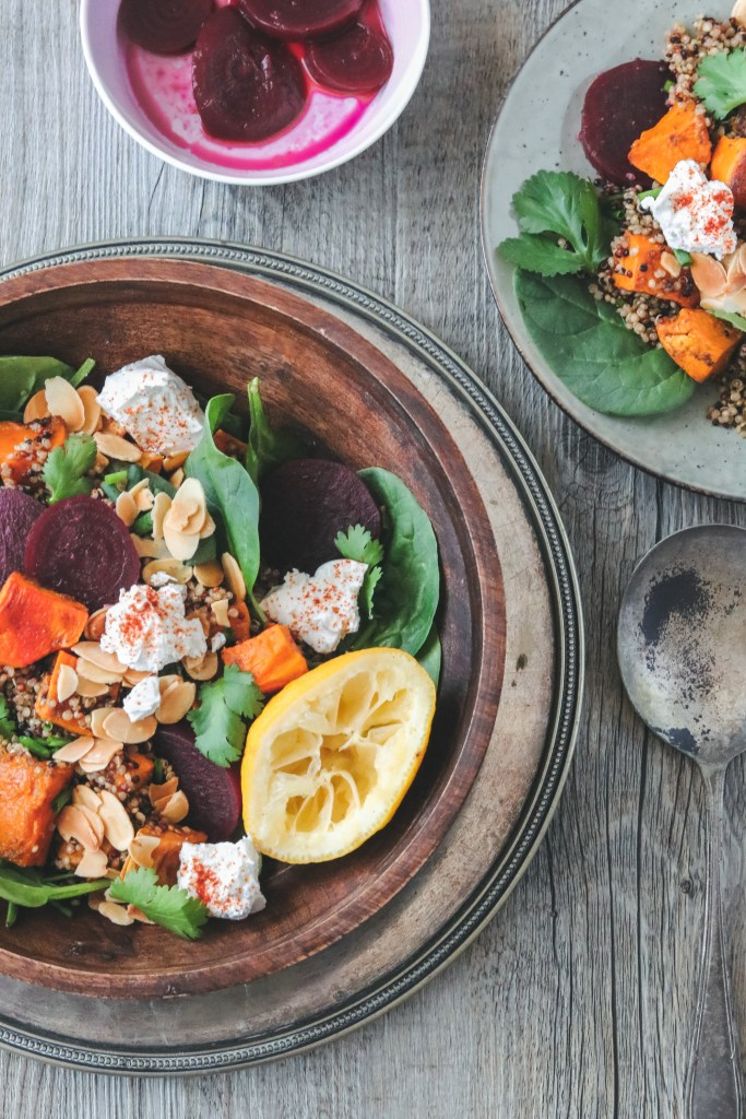 Photo: Fragrant Roasted Pumpkin, Sweet Potato and Quinoa Salad