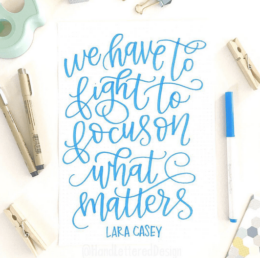 Cred: Hand Lettered Design