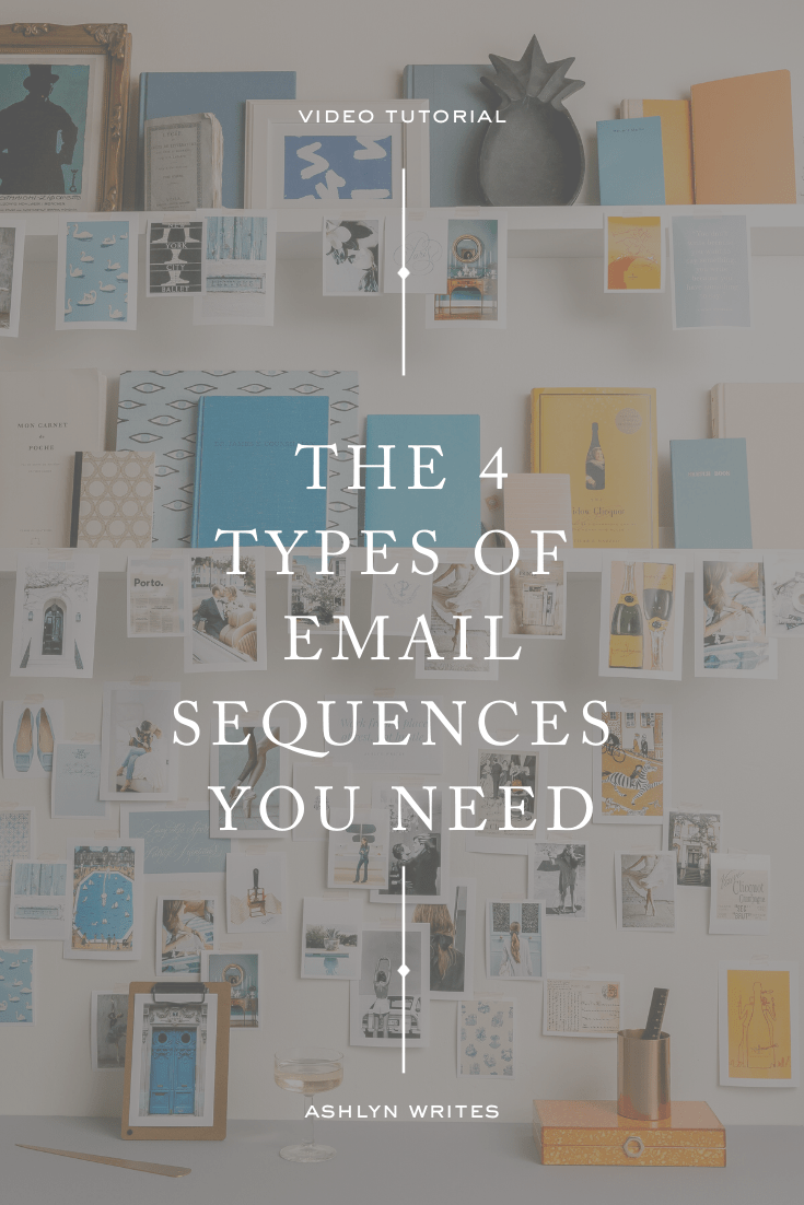 4 email sequences you need